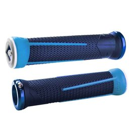 ODI ODI AG1 Lock-On Grips Aaron Gwin 135mm Blue/Light Blue