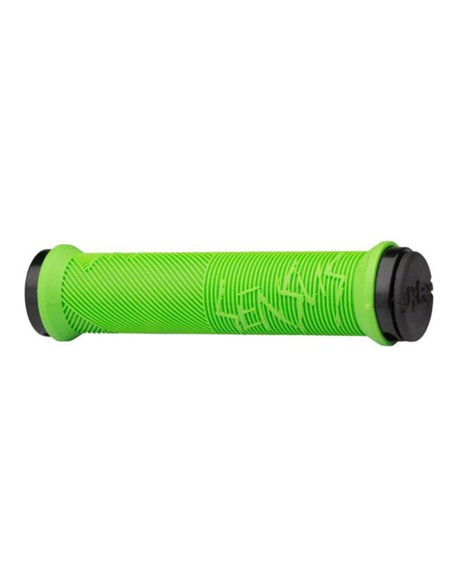 ODI ODI Sensus Disisdaboss Lock-On Grips 143mm Lime Green
