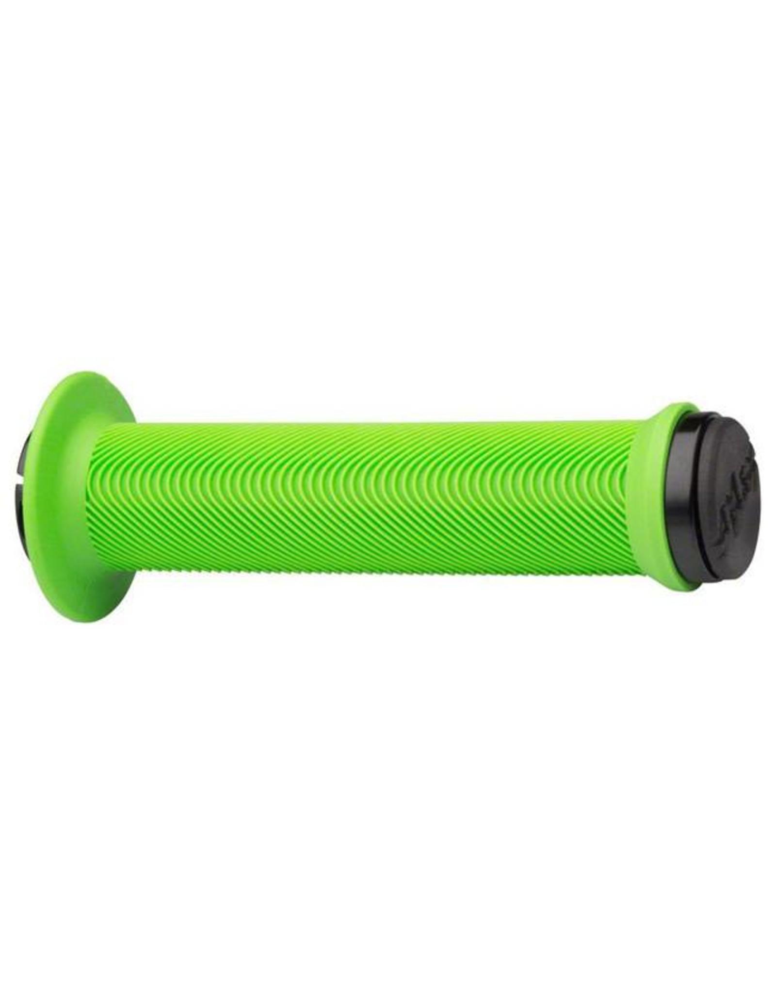 ODI ODI Sensus Swayze Lock-On Grips Lime Green