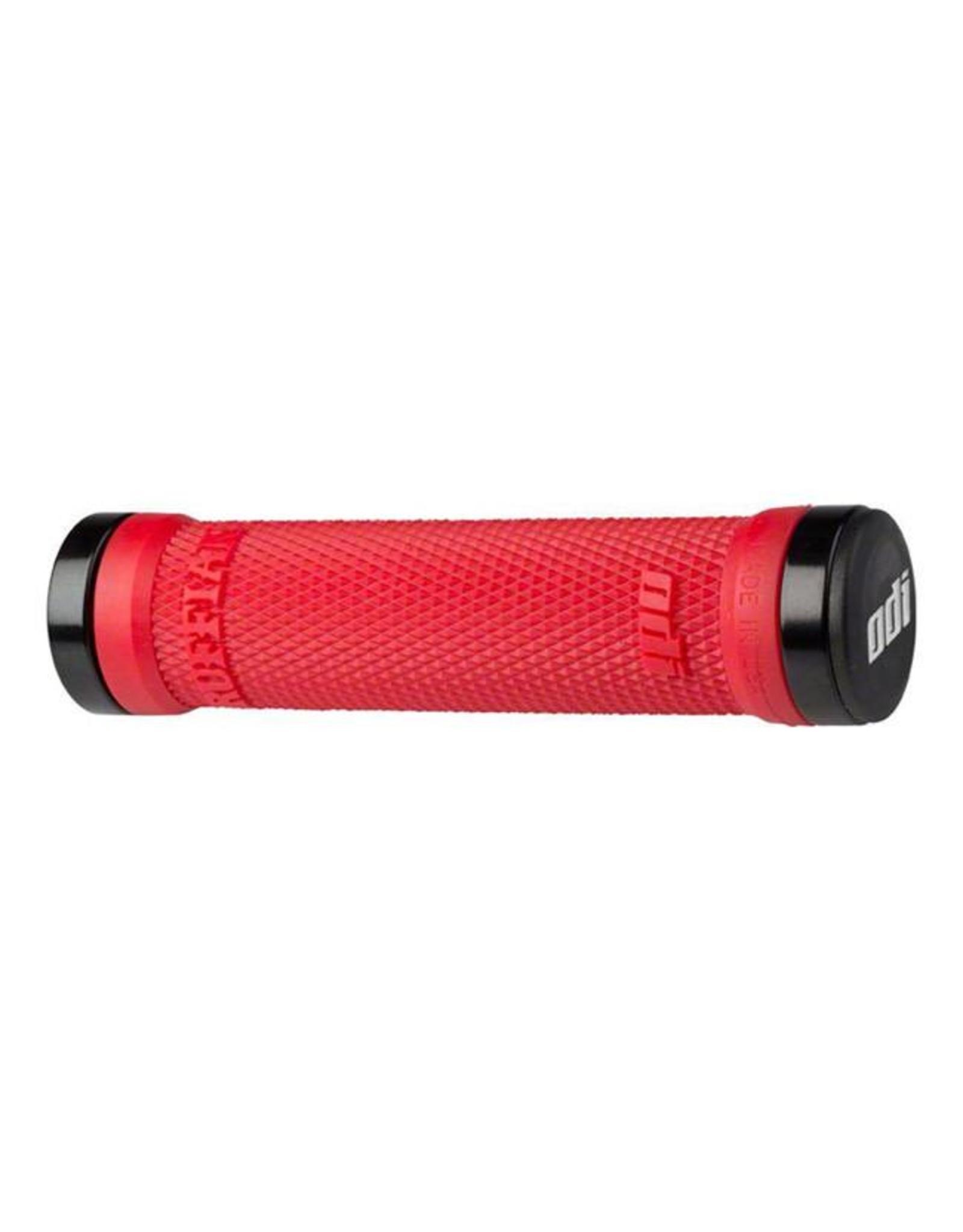 ODI ODI Ruffian MTB Lock On Grips 130mm Bright Red