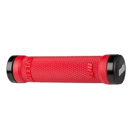 ODI ODI Ruffian MTB Lock On Grips 130mm Bright Red