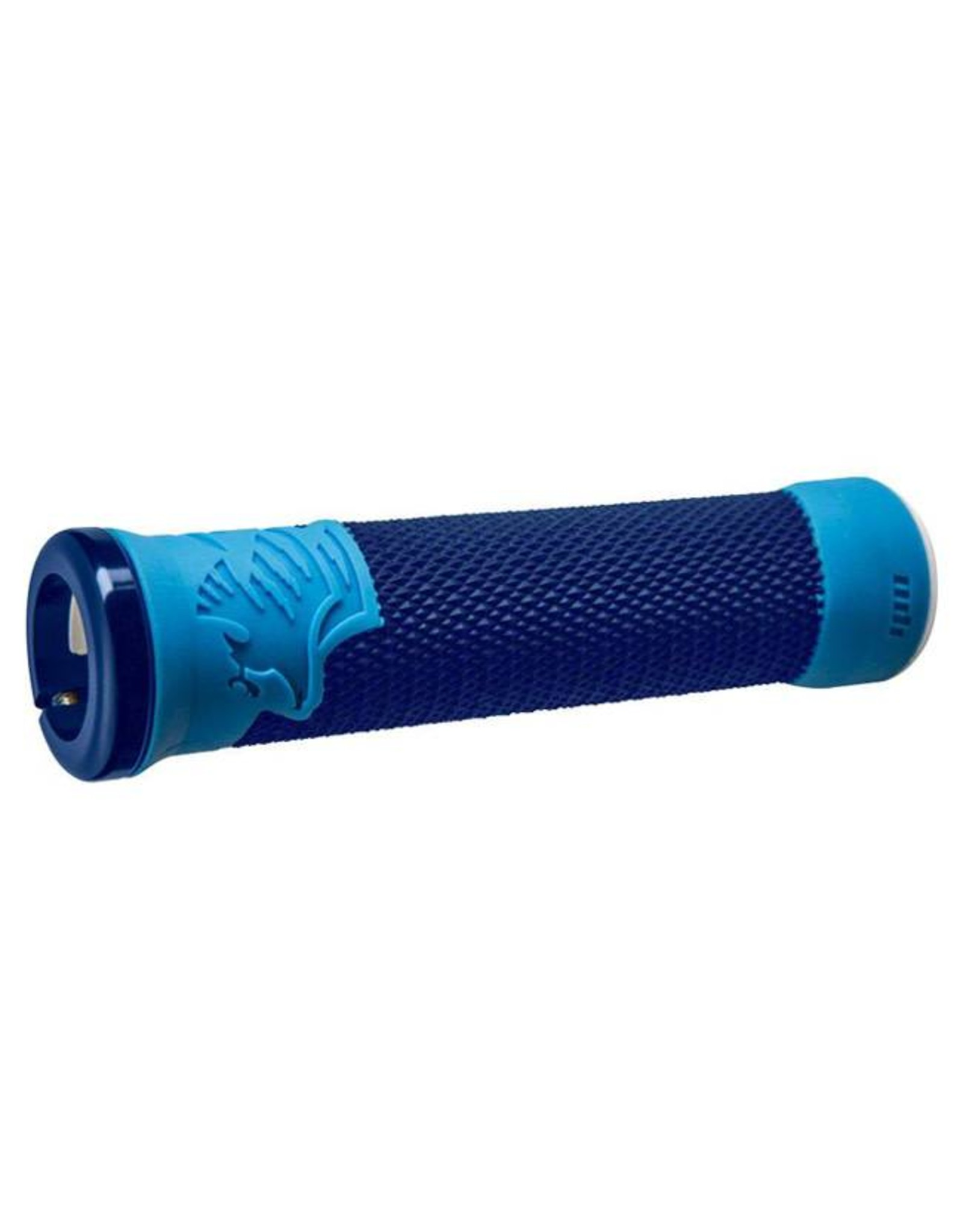 ODI ODI AG2 Lock-On Grips Blue/Light Blue with Blue Clamps