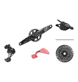 SRAM SRAM GX Eagle DUB Groupset: 175mm 32 Tooth Crank, Rear Derailleur, 10-50 12 Speed Cassette, Trigger Shifter, Chain