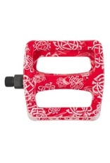 Odyssey Odyssey Twisted Pro PC Pedals Monogram Print Red