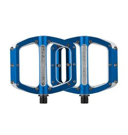 Spank Spank Spoon Medium (100mm) Pedals, Blue