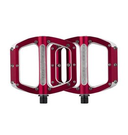 Spank Spank Spoon Large (110mm) Pedals, Red