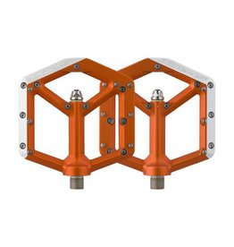 Spank Spank Spike Flat DH Pedal, Orange