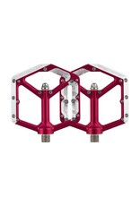Spank Spank Oozy Trail Flat Pedals, Red