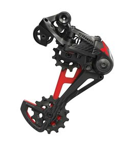 SRAM SRAM X01 Eagle 12-Speed Type 3 Rear Derailleur, Black with Red Trim