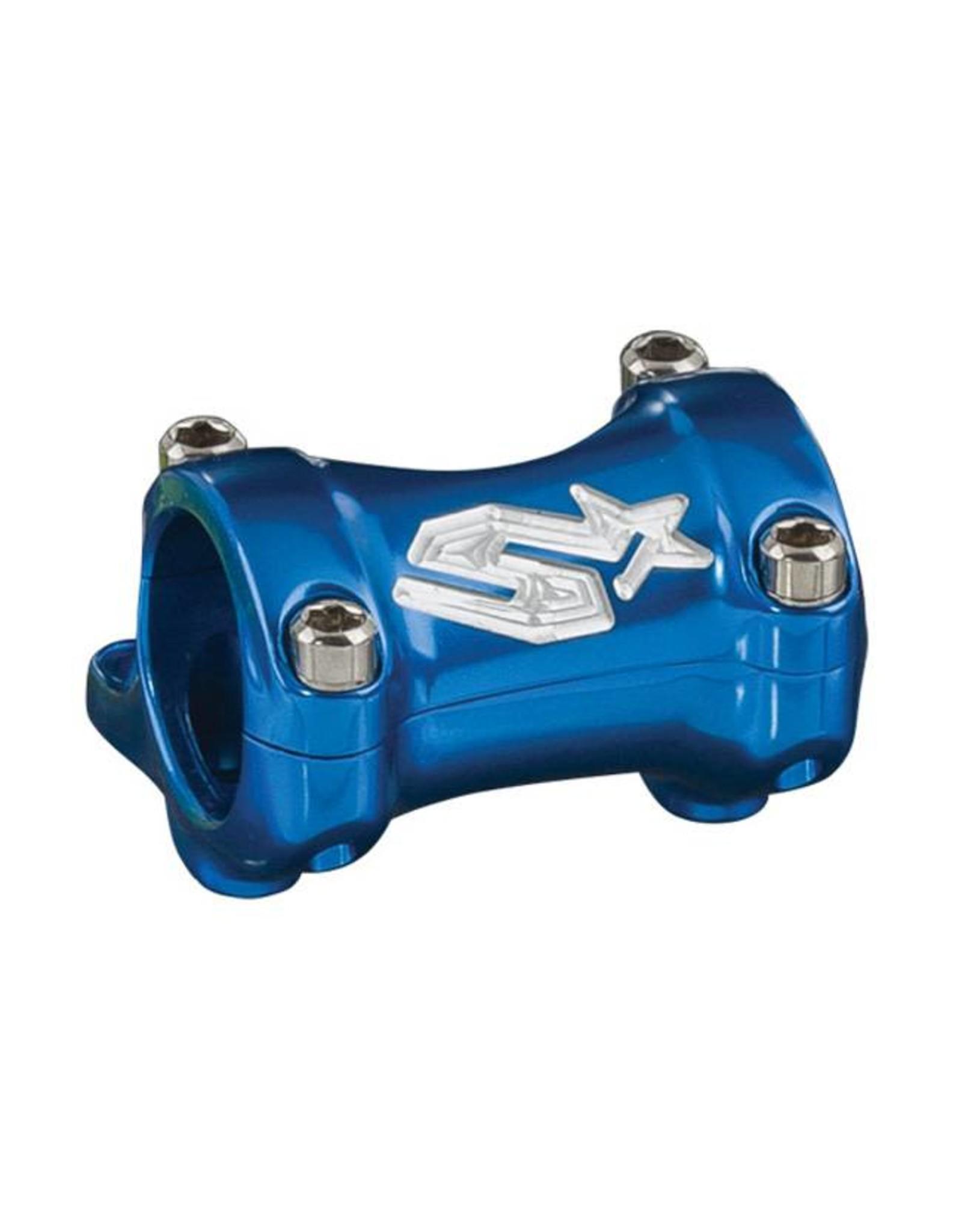 Spank Spank Spike 25/30mm Direct Mount Stem, Blue