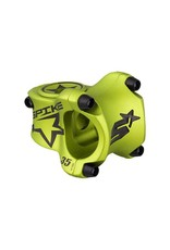 Spank Spank Spike Race Stem 35mm Length, 31.8 Bar Clamp, Matte Green