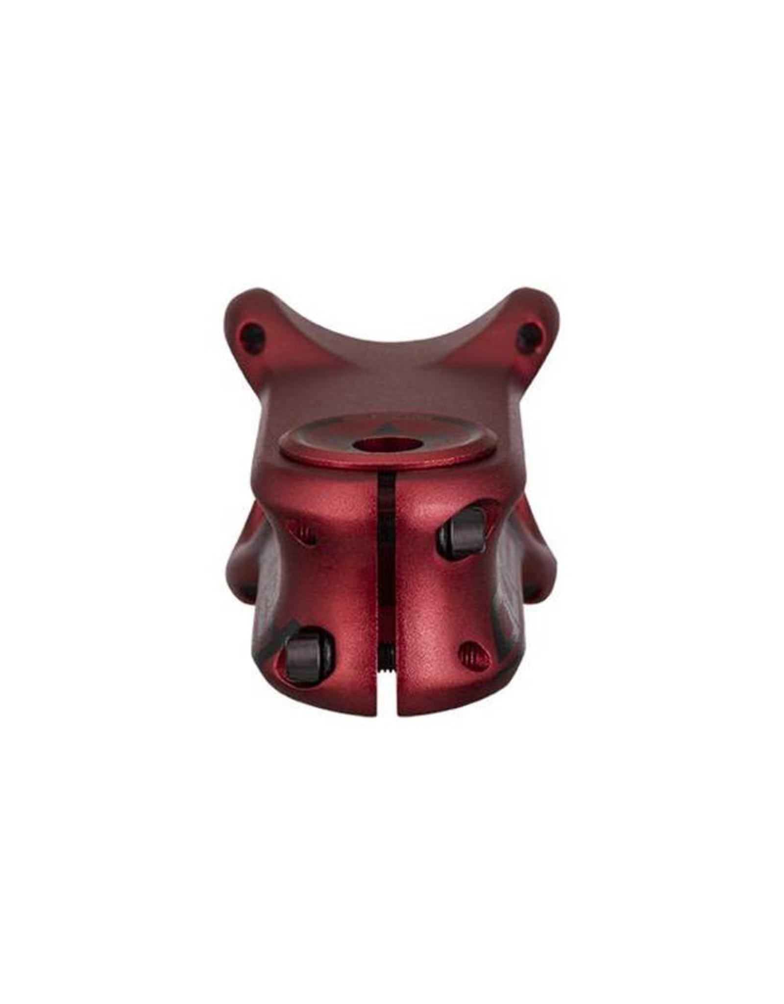 Spank Spank Oozy Trail Stem 50mm, 31.8, Matte Red