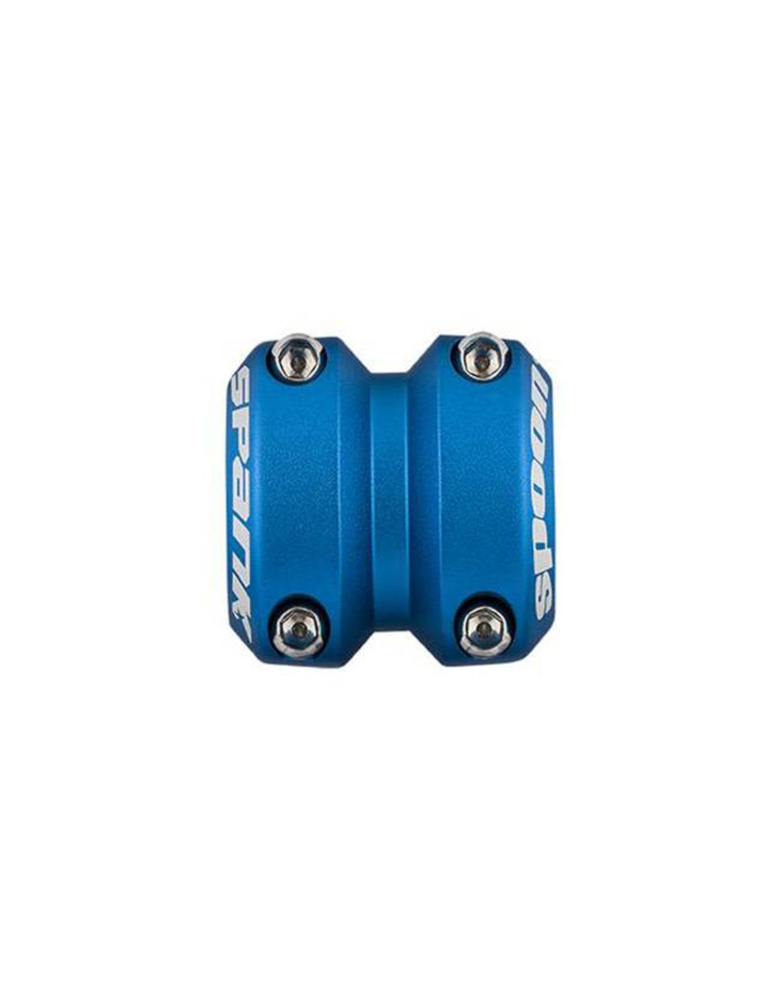 Spank Spank Spoon Stem 40mm, 31.8, Matte Blue