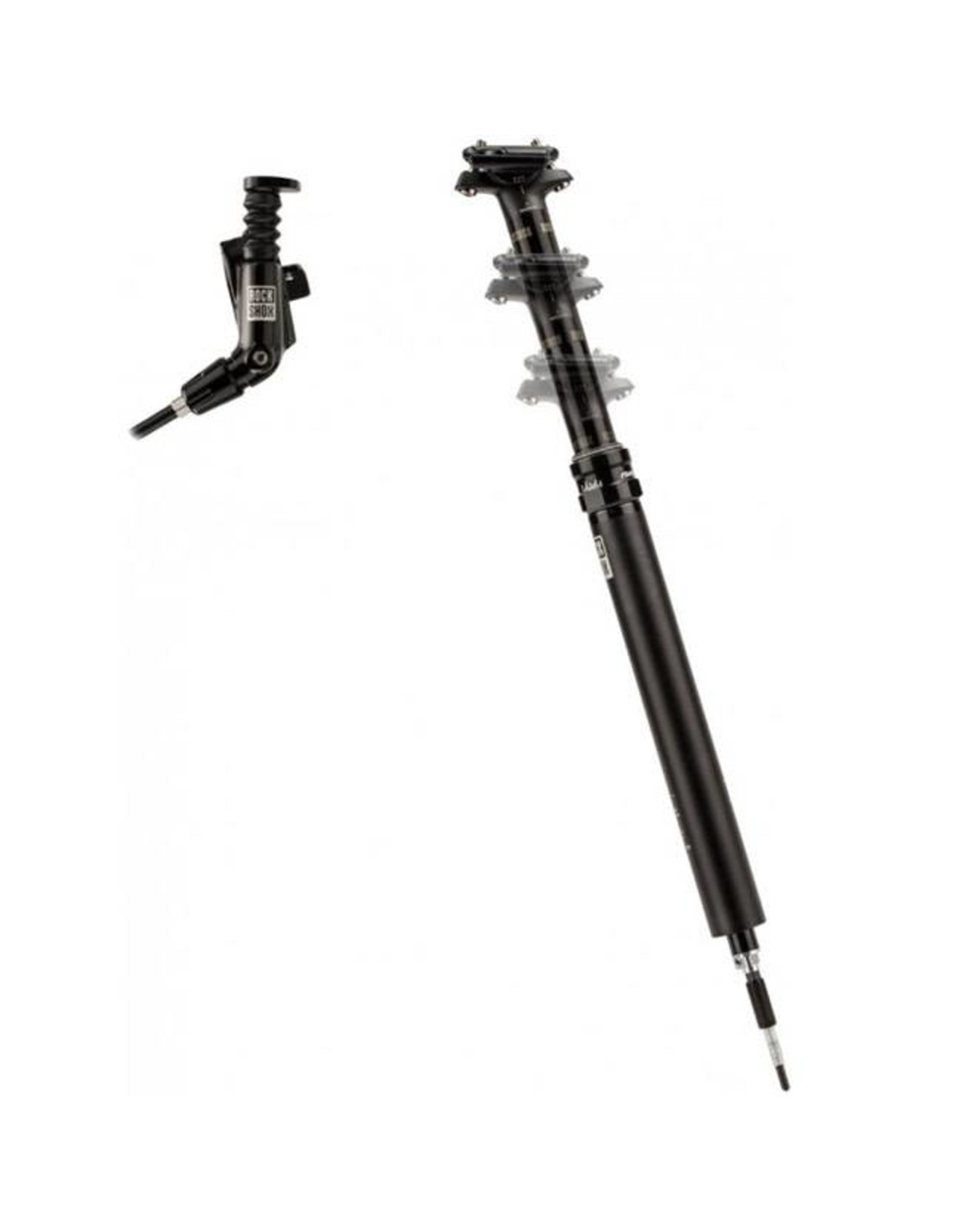 Rockshox RockShox Reverb Stealth 31.6 x 340mm Dropper Post, 100mm Travel, MMX Left, B1