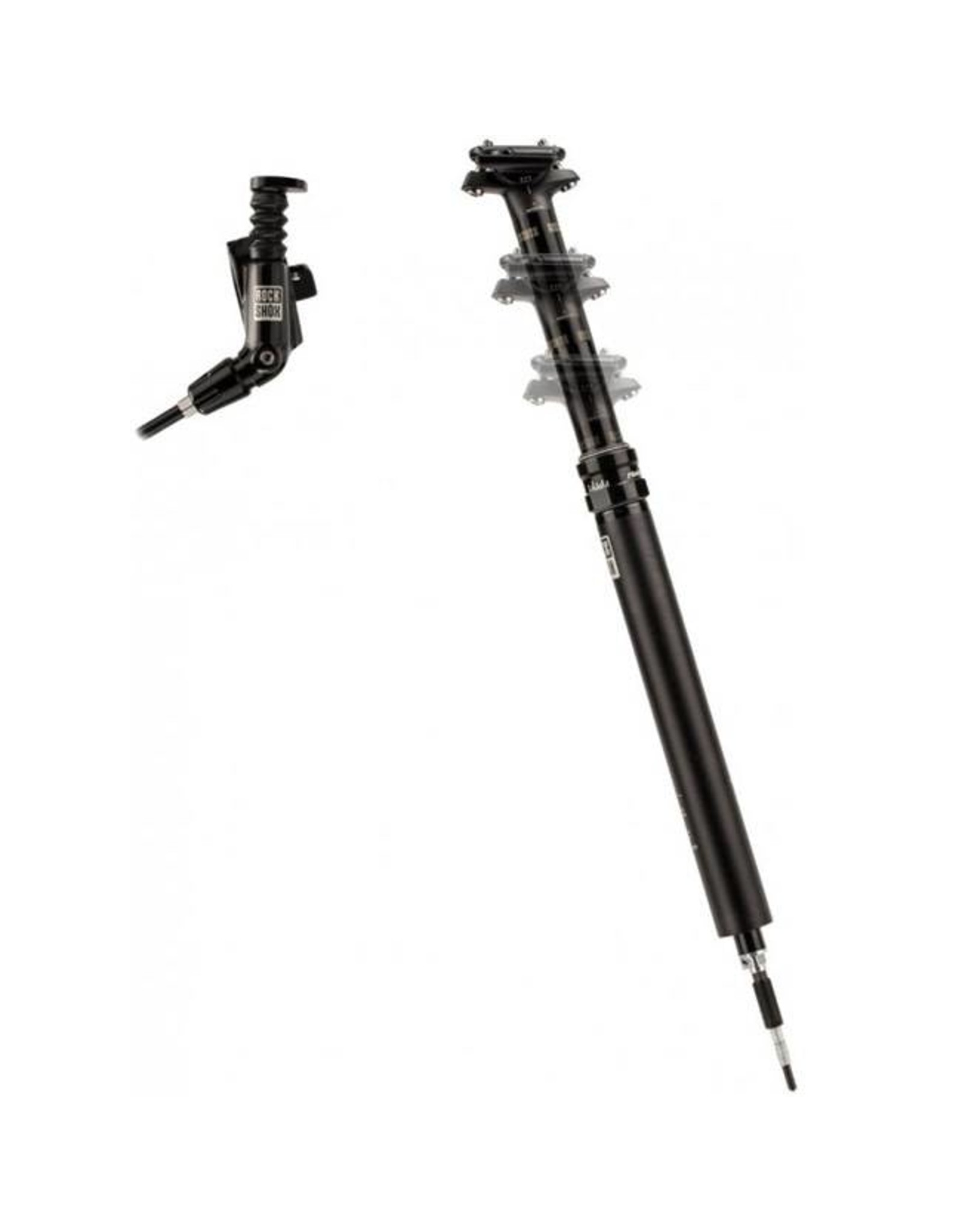 Rockshox RockShox Reverb Stealth 31.6 x 390mm Dropper Post, 125mm Travel, MMX Left, B1