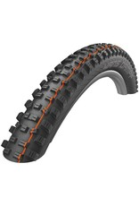 "Schwalbe Schwalbe Hans Dampf Tire: 29 x 2.35"", Folding Bead, Evolution Line, Addix Soft Compound, SnakeSkin, Tubeless Easy, Black"