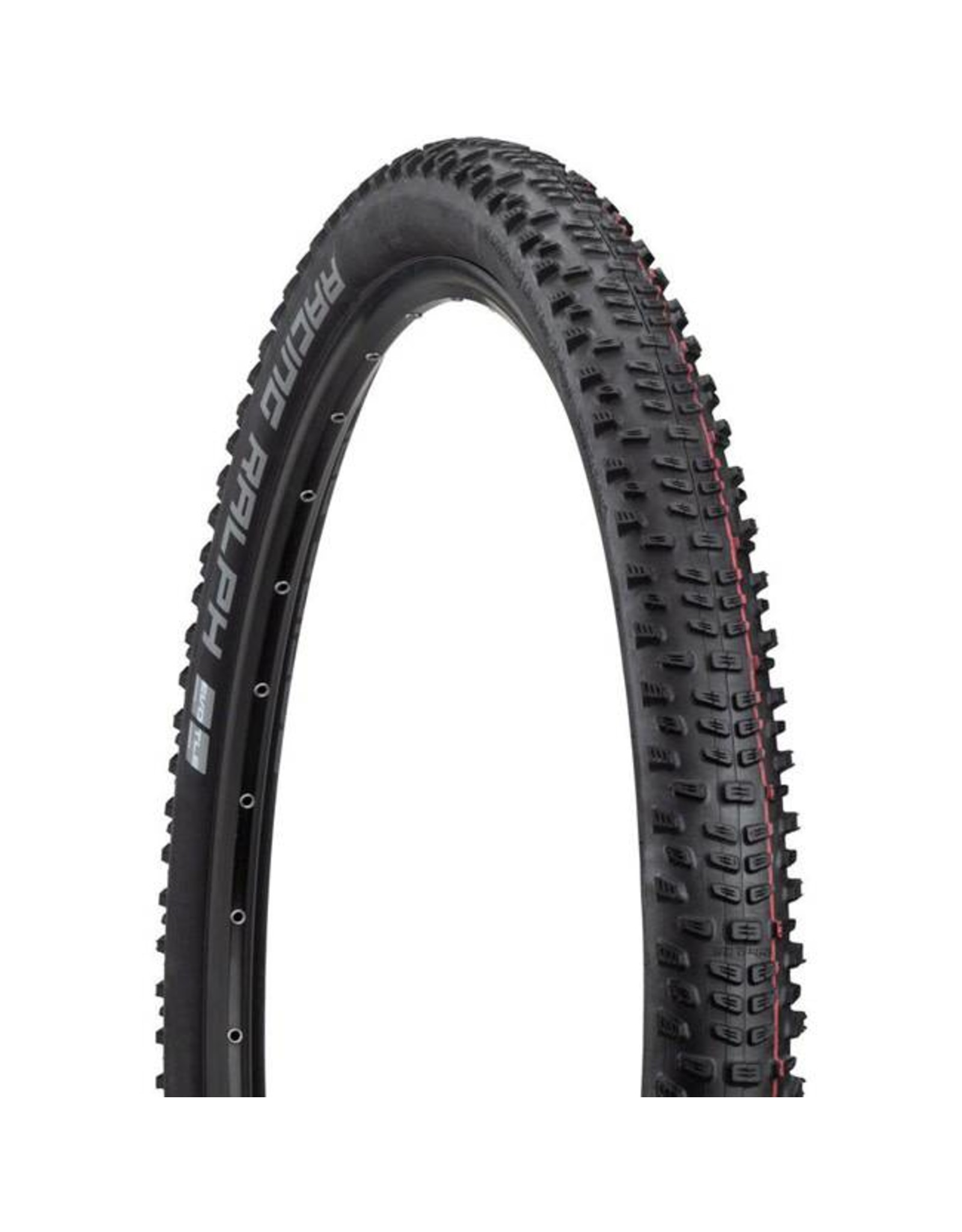 "Schwalbe Schwalbe Racing Ralph Tire: 29 x 2.25"", Folding Bead, Evolution Line, Addix Speed Compound, SnakeSkin, Tubeless Easy, Black"