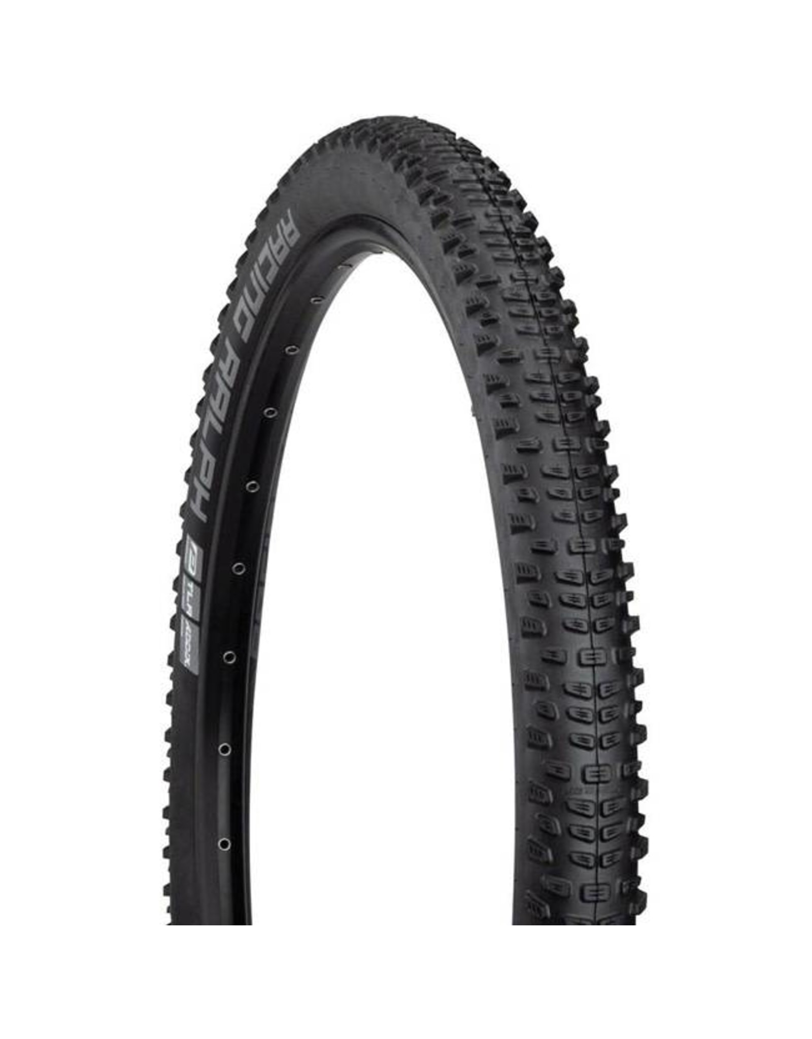 "Schwalbe Schwalbe Racing Ralph Tire: 27.5 x 2.25"", Folding Bead, Performance Line, Addix Performance Compound, TwinSkin, Tubeless Ready, Blac k"