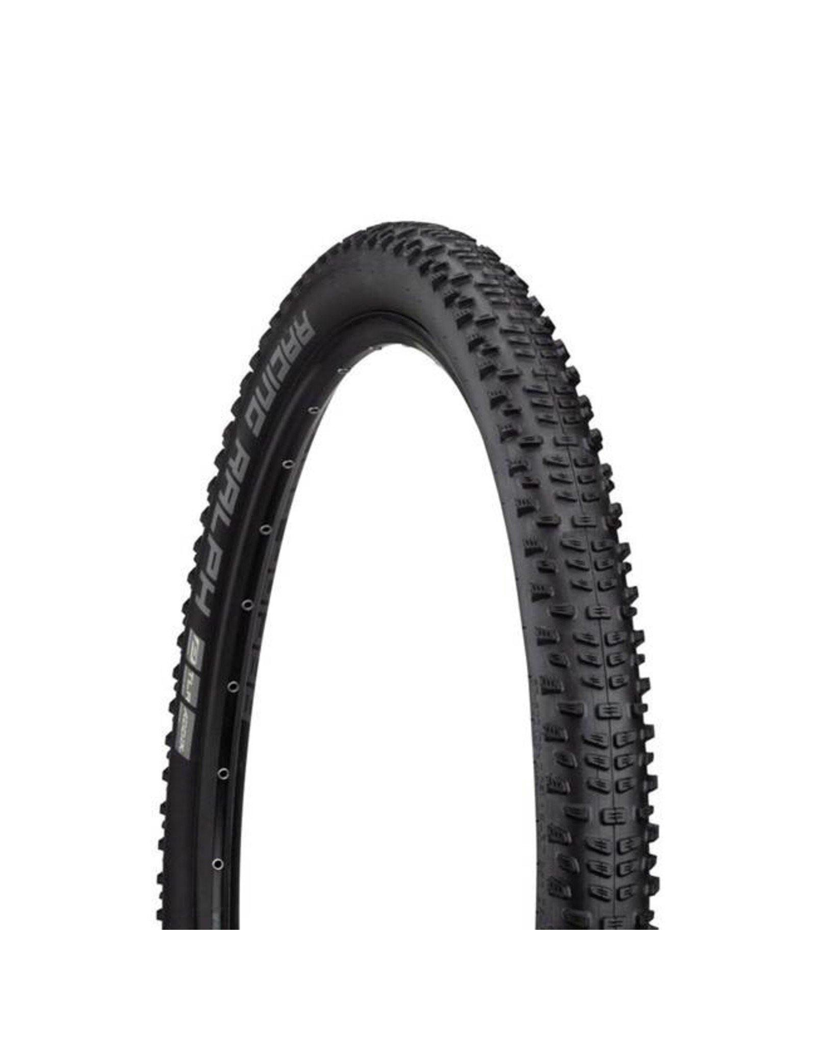 "Schwalbe Schwalbe Racing Ralph Tire: 29 x 2.25"", Folding Bead, Performance Line, Addix Performance Compound, TwinSkin, Tubeless Ready, Black"