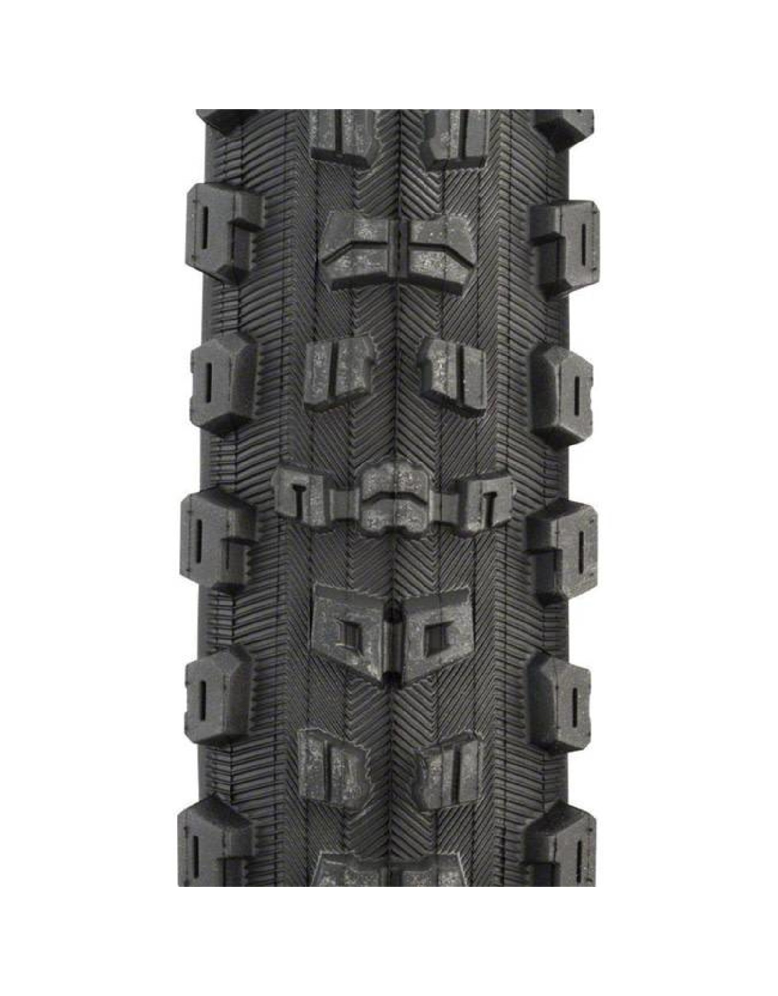 "Maxxis Maxxis Aggressor Tire: 29 x 2.30"", Folding, 120tpi, Dual Compound, 2-Ply Double Down, Tubeless Ready, Black"