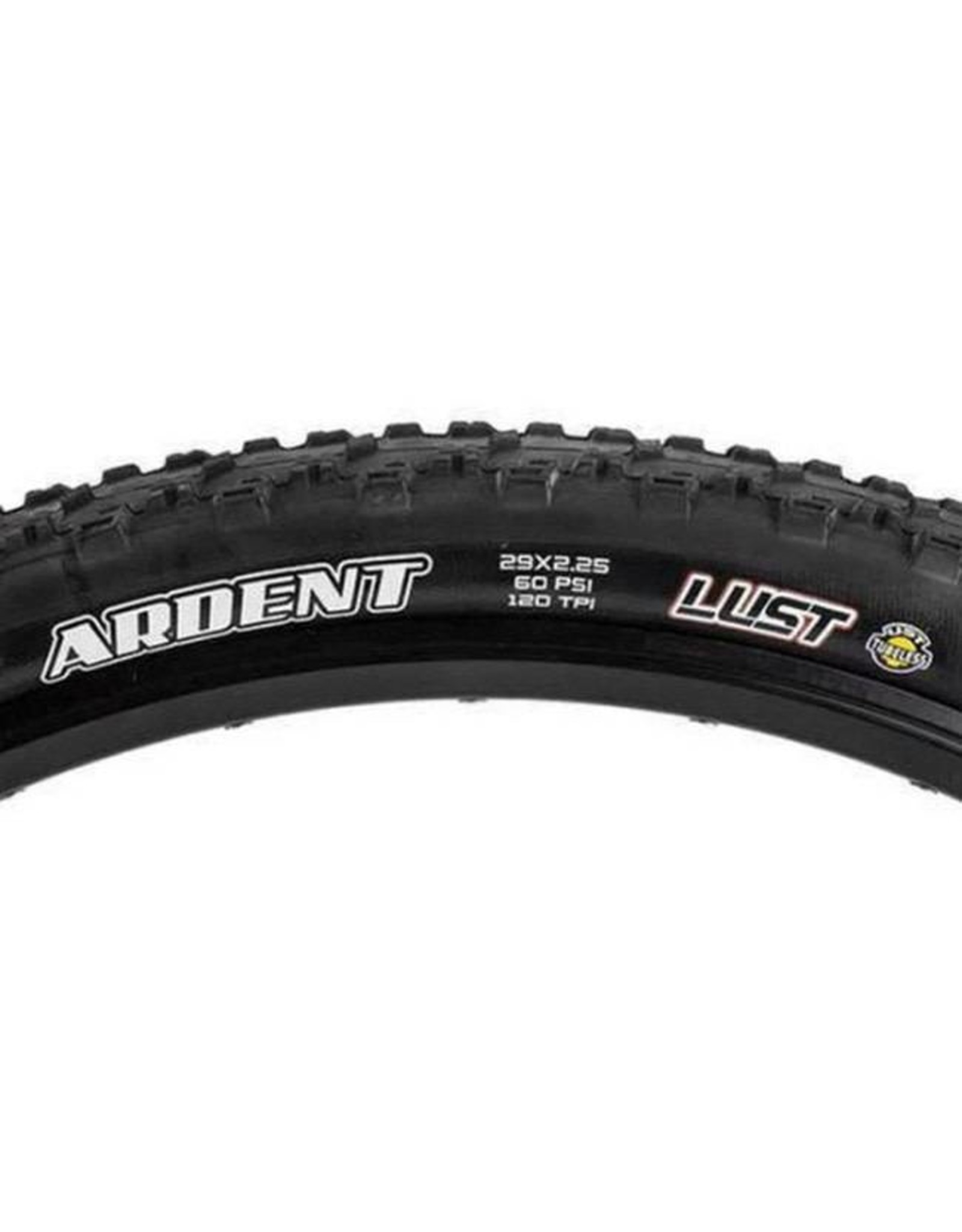 "Maxxis Maxxis Ardent Tire: 29 x 2.25"", Folding, 120tpi, Dual Compound, LUST/UST, Black"
