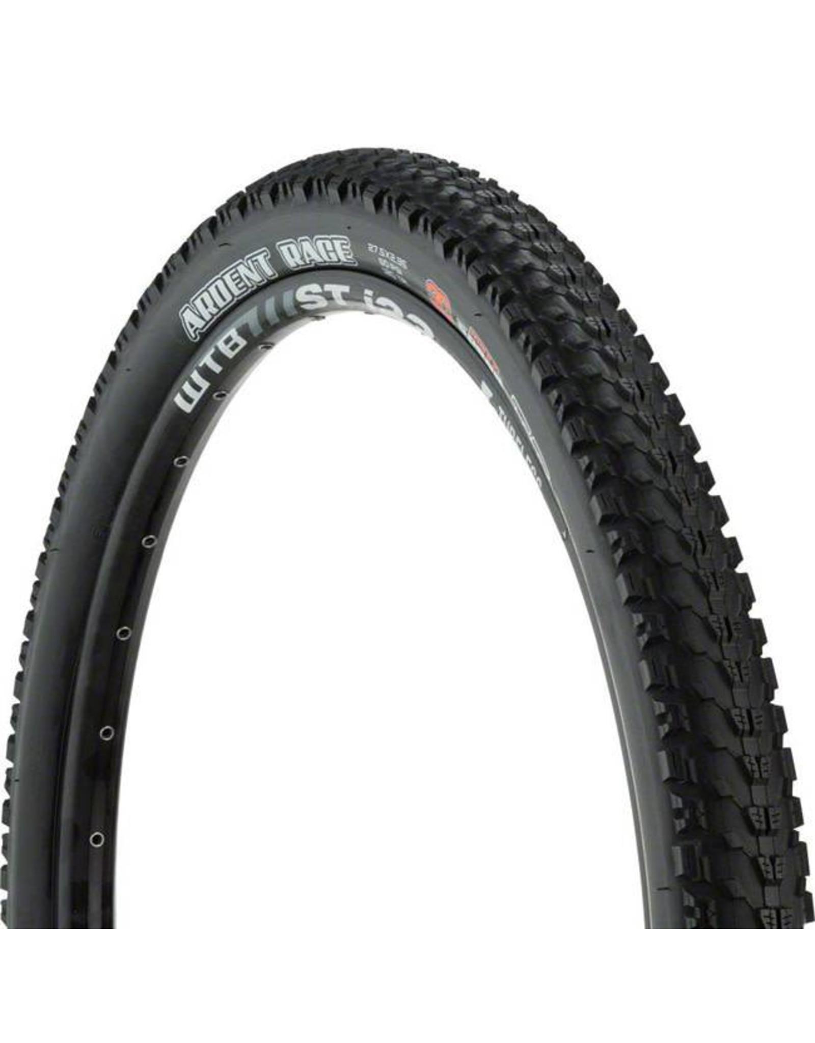 "Maxxis Maxxis Ardent Race Tire: 27.5 x 2.35"", Folding, 120tpi, 3C, Tubeless Ready, Black"