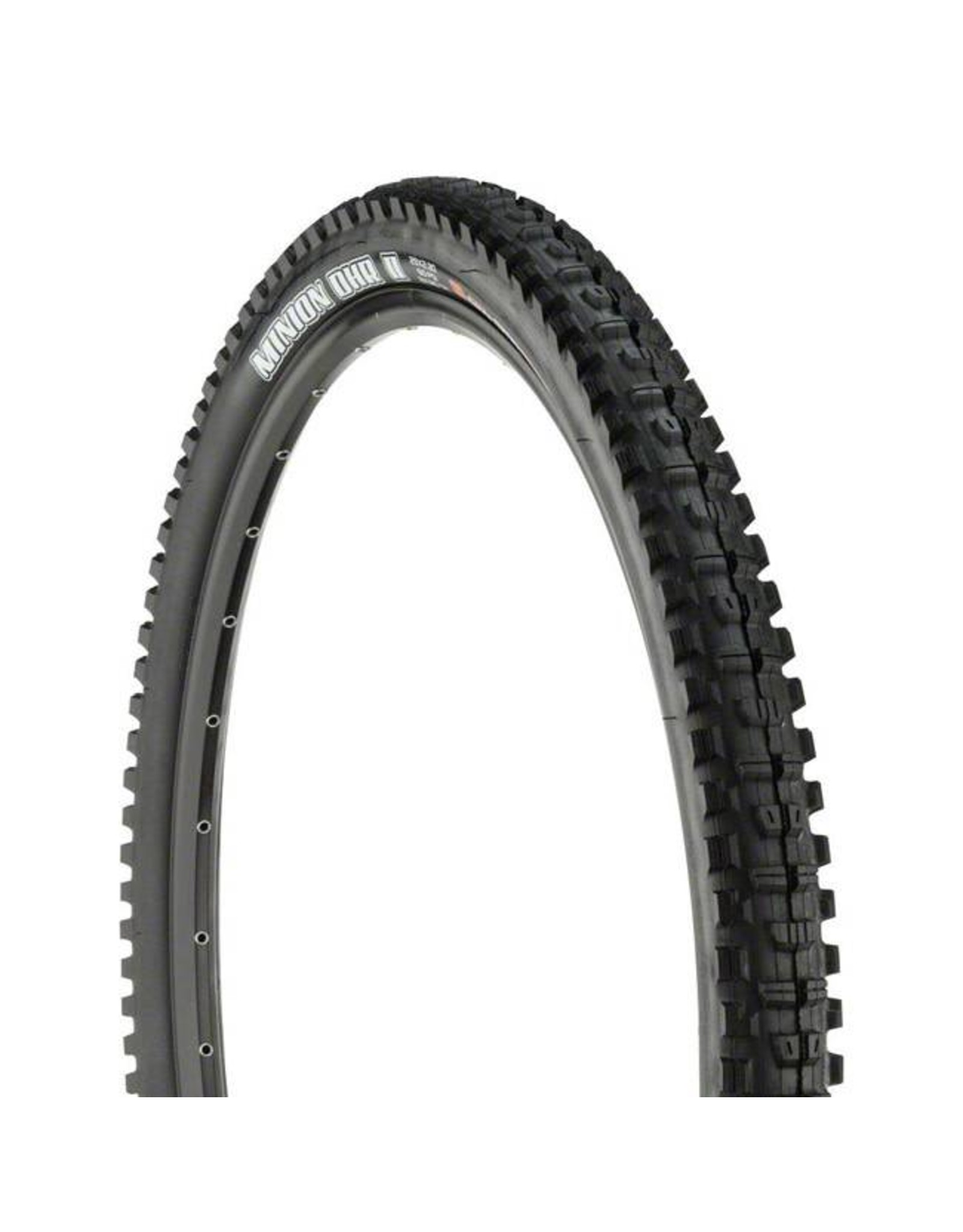 "Maxxis Maxxis Minion DHR II Tire: 29 x 2.30"", Folding, 120tpi, 3C, Double Down, Tubeless Ready, Black"