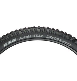 "Schwalbe Schwalbe Magic Mary Tire: 27.5 x 2.35"", Folding Bead, Evolution Line, Addix Ultra Soft Compound, Super Gravity, Tubeless Easy, Black"