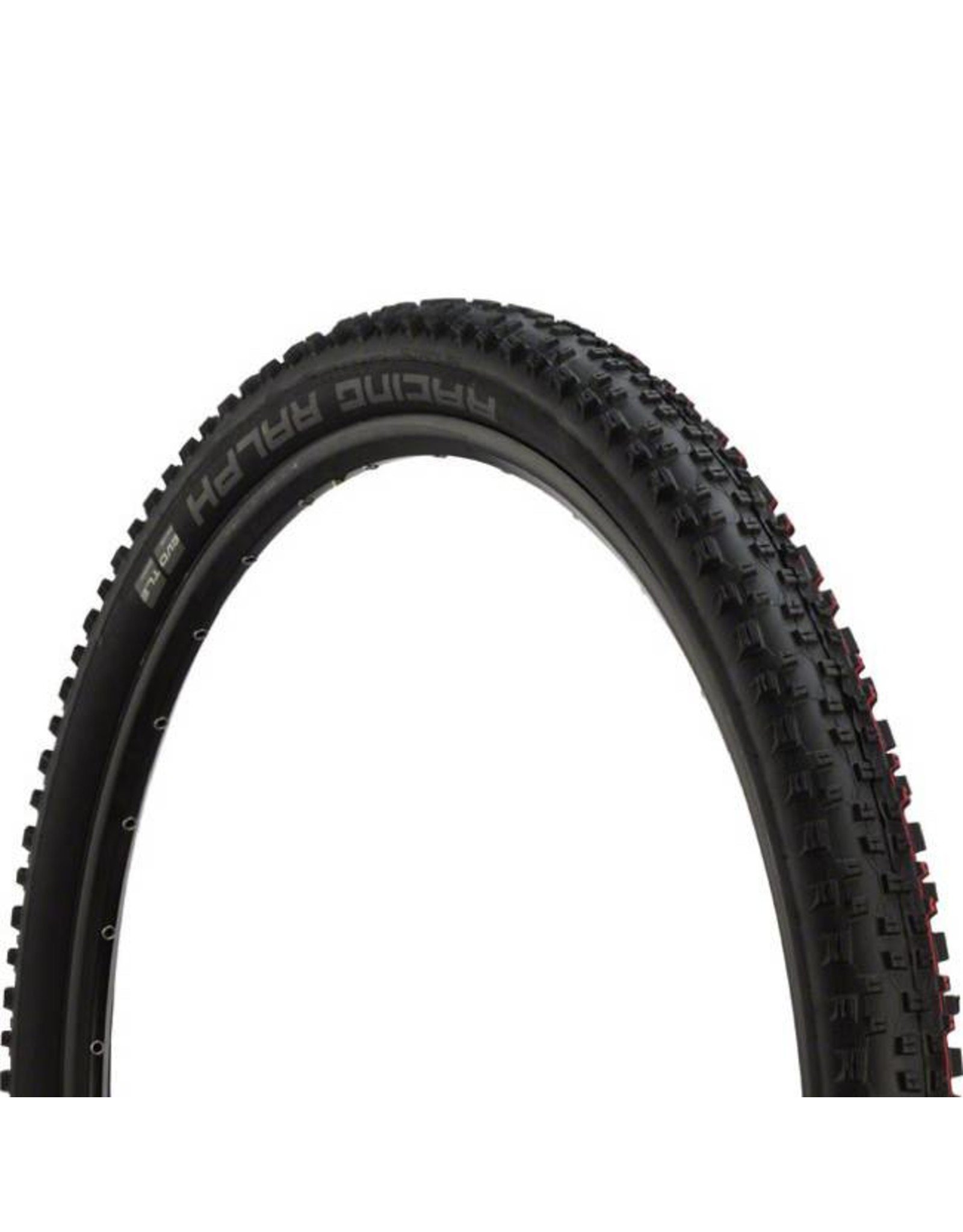 "Schwalbe Schwalbe Racing Ralph Tire: 29 x 2.25"", Folding Bead, Evolution Line, Addix Speed Compound, SnakeSkin, Tubeless Easy, Black"
