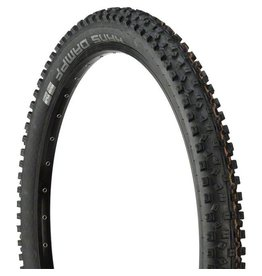 "Schwalbe Schwalbe Hans Dampf Tire: 27.5 x 2.35"", Folding Bead, Evolution Line, Addix Soft Compound, Super Gravity, Tubeless Easy, Black"