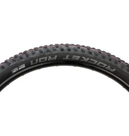 "Schwalbe Schwalbe Rocket Ron Tire: 29 x 2.25"", Folding Bead, Evolution Line, Addix Speed Compound, LiteSkin, Black"