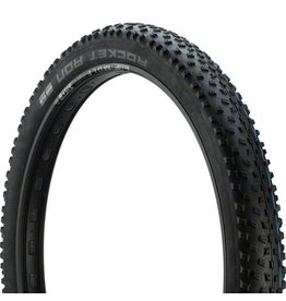 "Schwalbe Schwalbe Rocket Ron Tire: 27.5 x 3.00"", Folding Bead, Evolution Line, Addix Speed Compound, SnakeSkin, Tubeless Easy, Black"