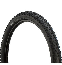 "Schwalbe Schwalbe Rocket Ron Tire: 27.5 x 2.80"", Folding Bead, Evolution Line, Addix Speed Compound, SnakeSkin, Tubeless Easy, Black"