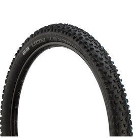 "Schwalbe Schwalbe Rocket Ron Tire: 27.5 x 2.60"", Folding Bead, Evolution Line, Addix Speed Compound, SnakeSkin, Tubeless Easy, Black"