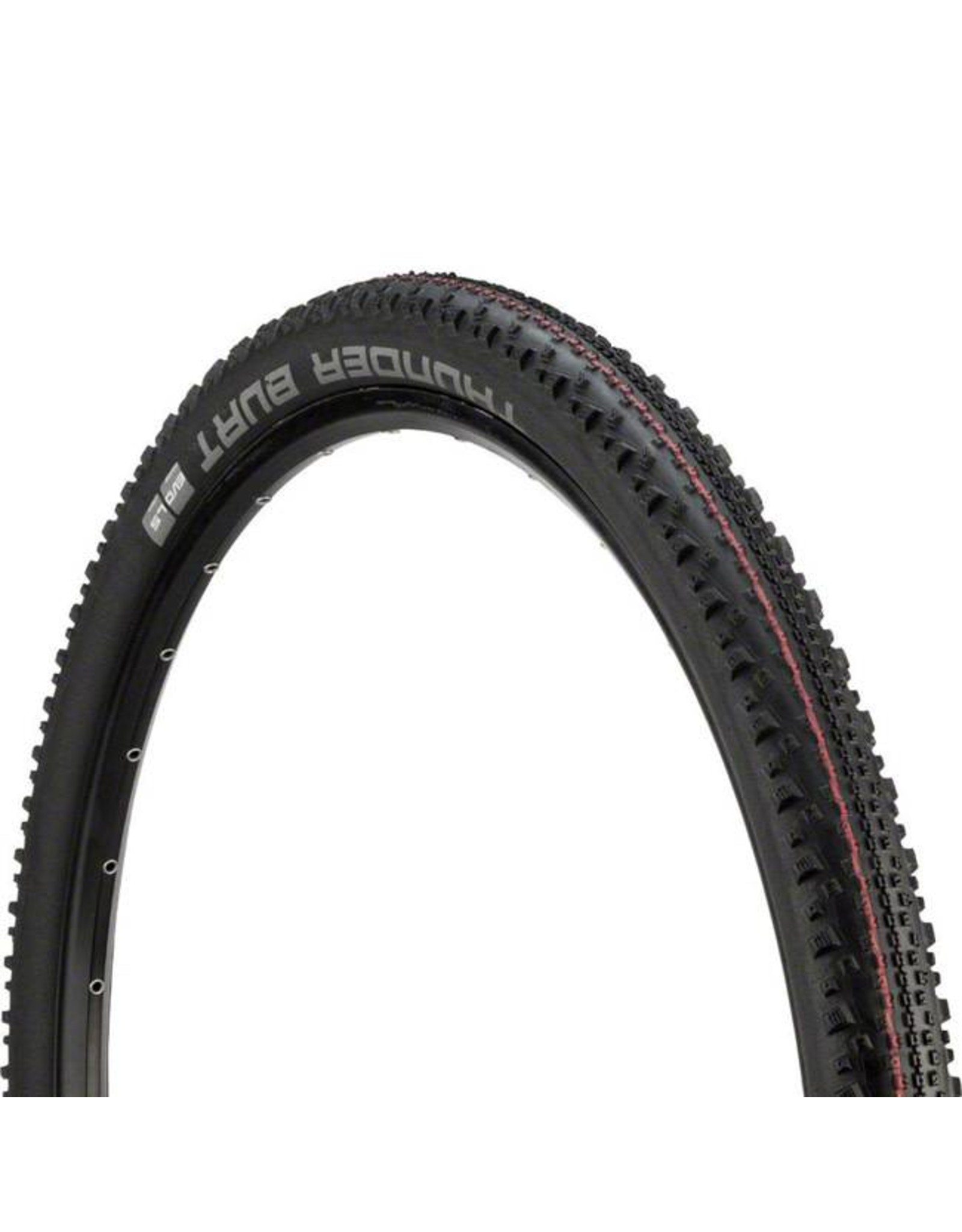 "Schwalbe Schwalbe Thunder Burt Tire: 29 x 2.10"", Folding Bead, Evolution Line, Addix Speed Compound, LiteSkin, Black"