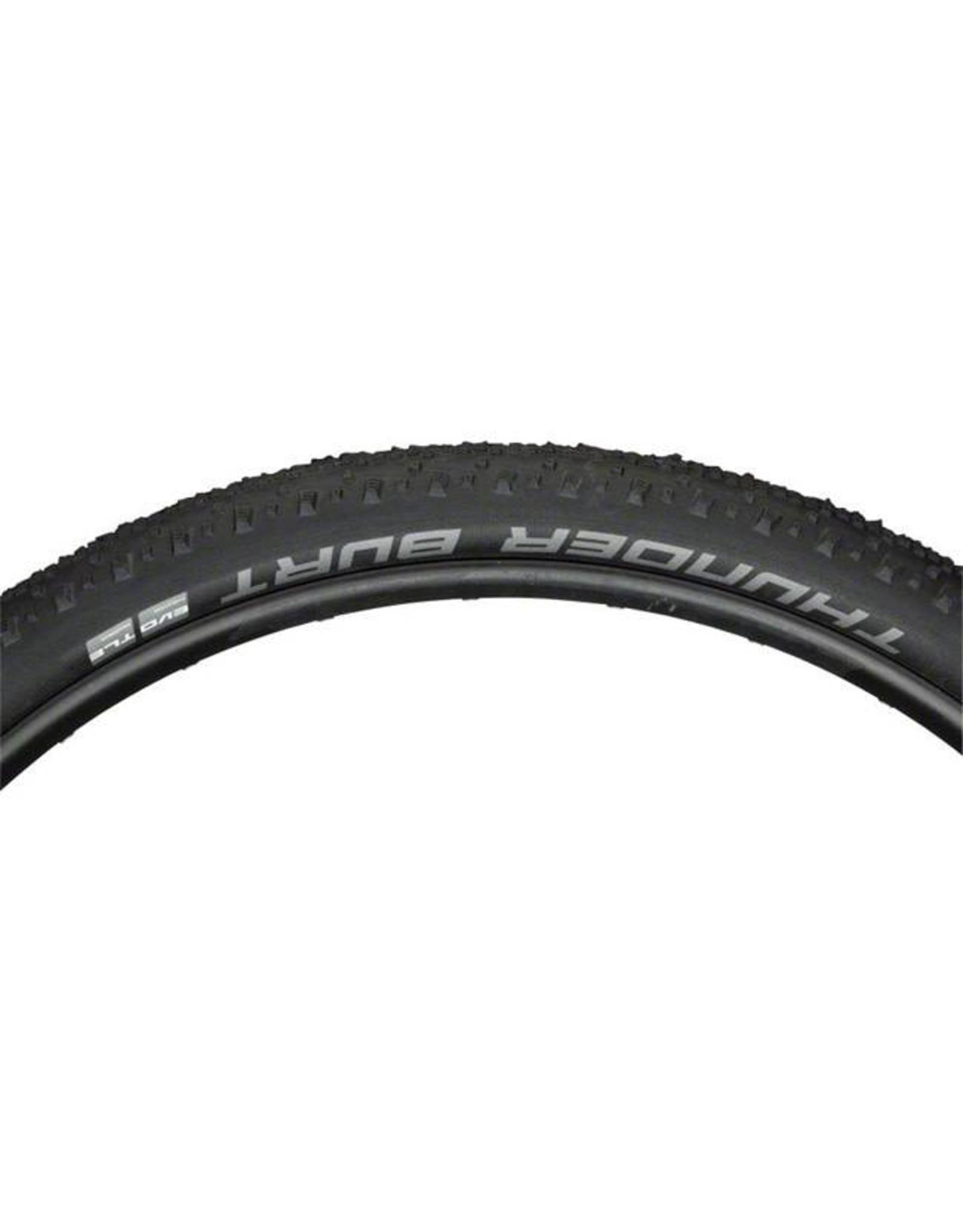 "Schwalbe Schwalbe Thunder Burt Tire: 29 x 2.10"", Folding Bead, Evolution Line, Addix Speed Compound, SnakeSkin, Tubeless Easy, Black"