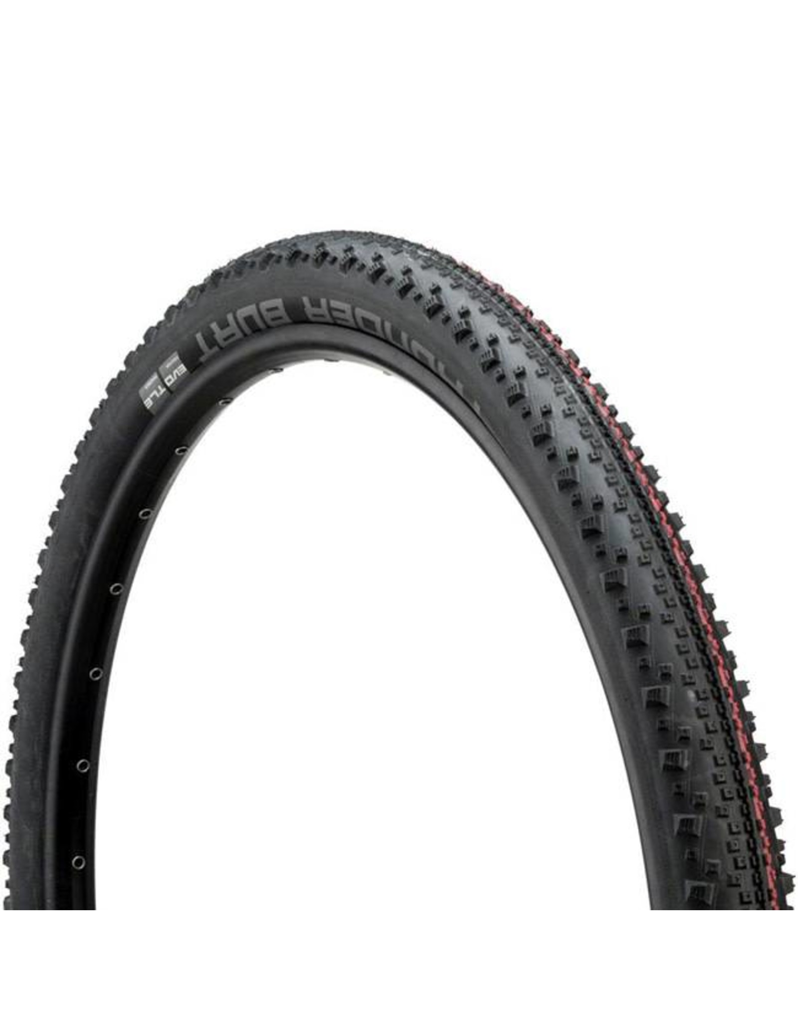 "Schwalbe Schwalbe Thunder Burt Tire: 27.5 x 2.10"", Folding Bead, Evolution Line, Addix Speed Compound, SnakeSkin, Tubeless Easy, Black"