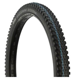 "Schwalbe Schwalbe Rock Razor Tire: 27.5 x 2.35"", Folding Bead, Evolution Line, Addix Speed Compound, SnakeSkin, Tubeless Easy, Black"