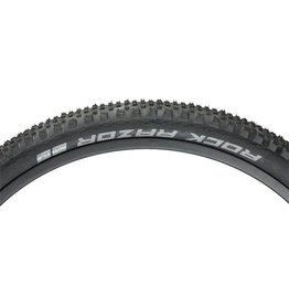 "Schwalbe Schwalbe Rock Razor Tire: 29 x 2.35"", Folding Bead, Evolution Line, Addix Speed Compound, SnakeSkin, Tubeless Easy, Black"
