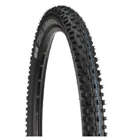 "Schwalbe Schwalbe Nobby Nic Tire: 27.5 x 2.60"", Folding Bead, Evolution Line, Addix Speed Compound, SnakeSkin, Tubeless Easy, Apex, Black"