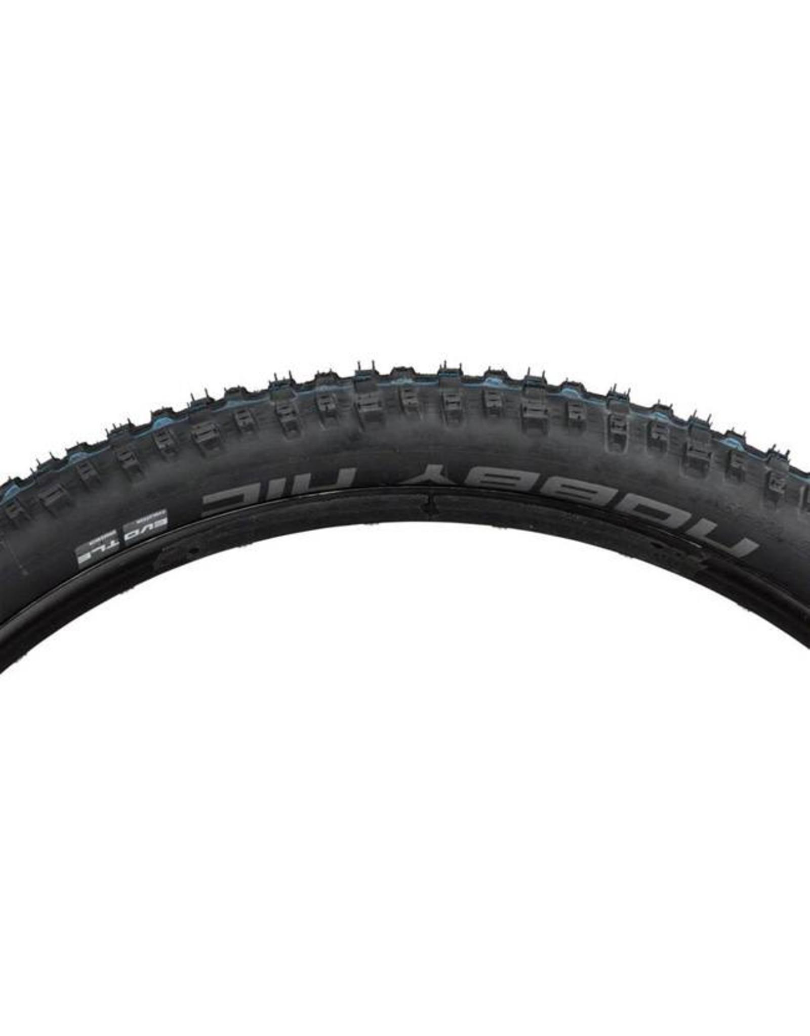 "Schwalbe Schwalbe Nobby Nic Tire: 27.5 x 2.60"", Folding Bead, Evolution Line, Addix Speed Compound, SnakeSkin, Tubeless Easy, Apex, Black"
