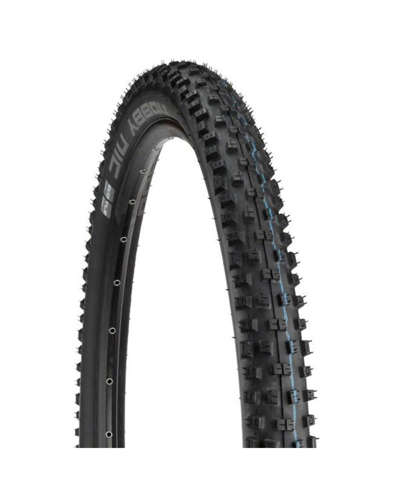 "Schwalbe Schwalbe Nobby Nic Tire: 27.5 x 2.80"", Folding Bead, Evolution Line, Addix Speed Compound, SnakeSkin, Tubeless Easy, Apex, Black"