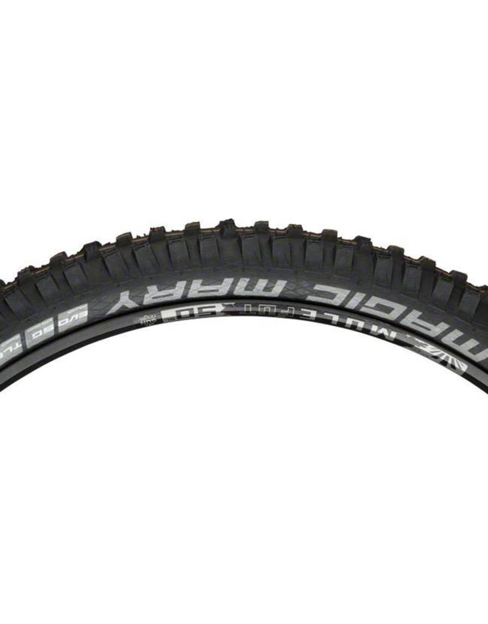 "Schwalbe Schwalbe Magic Mary Tire: 29 x 2.35"", Folding Bead, Evolution Line, Addix Soft Compound, Super Gravity, Tubeless Easy, Black"