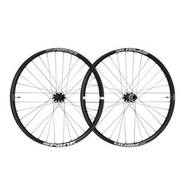 Spank Spank Oozy Trail 395+ Wheelset: 27.5+ 15 x 110mm Front 12 x 148mm Rear Shimano 10/11 MTB Freehub Black