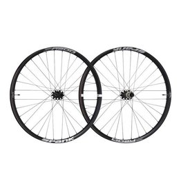 Spank Spank Oozy Trail 395+ Wheelset: 29+ 15 x 110mm Front 12 x 148mm Rear Shimano 10/11 MTB Freehub Black