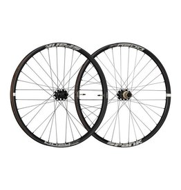 Spank Spank Oozy Trail 345 Wheelset: 27.5+ 15 x 110mm Front 12 x 148mm Rear Shimano 10/11 MTB Freehub Black