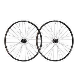"Spank Spank Spike 350 Vibrocore Boost Wheelset: 27.5"" 15 x 110mm Front 12 x 148mm Rear Shimano 10/11 MTB Freehub, Black"