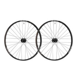 "Spank Spank Spike 350 Vibrocore Boost Wheelset: 29"" 15 x 110mm Front 12 x 148mm Rear Shimano 10/11 MTB Freehub, Black"