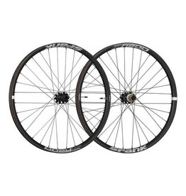 "Spank Spank OOZY Trail 395+ Boost Wheelset 27.5"" 15 x 110mm Front, 12 x 148mm Rear Black"