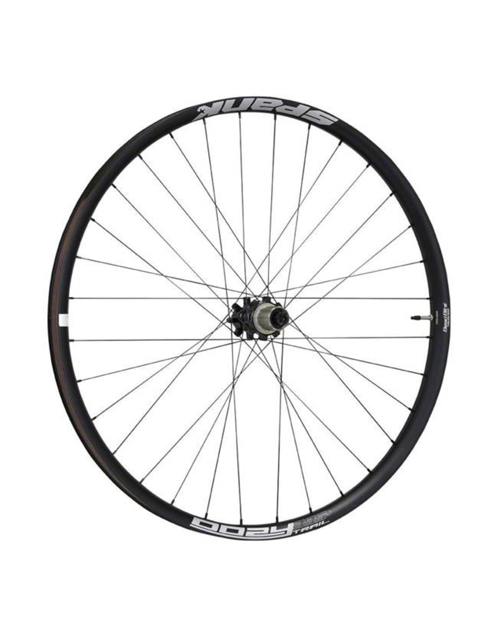 "Spank Spank Oozy Trail 395+ Boost Wheelset: 29"" 15 x 110mm Front 12 x 148mm Rear XD Driver, Black"